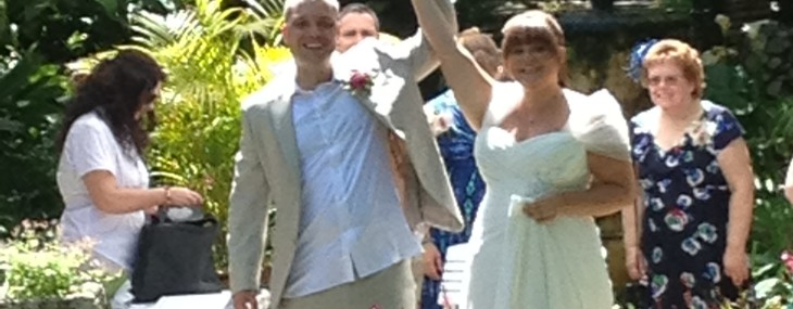 Abi & Nigel Just Married