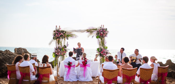 Beach wedding in Southern Spain