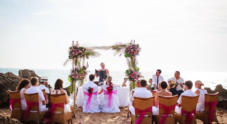Beach wedding in Southern Spain