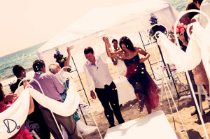 Christina & Andy Marbella Beach wedding