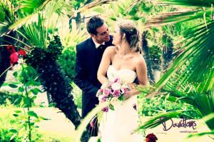 Karin & Michael beach club wedding marbella