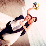 Stephanie & Andre beach wedding Marbella