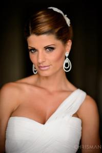 Beautiful bride Nadine
