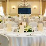 Los Monteros Hotel Marbella Wedding Reception indoor set up