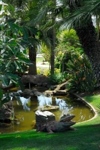 Los Monteros Hotel Gardens & bridge Marbella