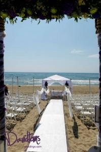 Poco Loco Beach Marbella wedding venue