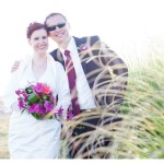 Nadine & Benjamin beach package wedding