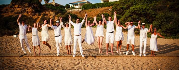Yeah – Beach Wedding !