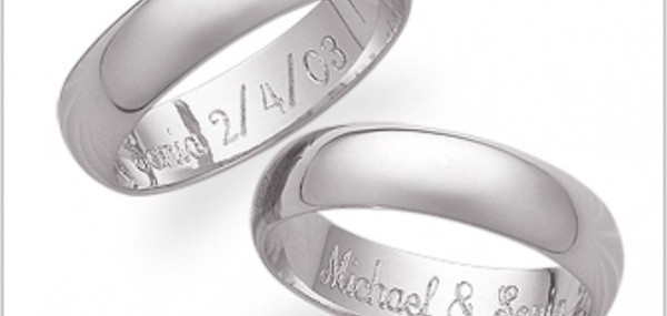 Wedding Ring Engraving, a personal touch