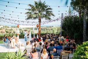 Marbella villa wedding in Spring