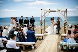 Beautiful beach wedding May Marbella Spain