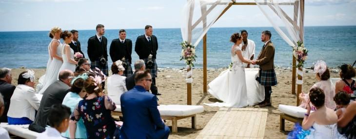 21 November 2016 Beautiful Beach Wedding