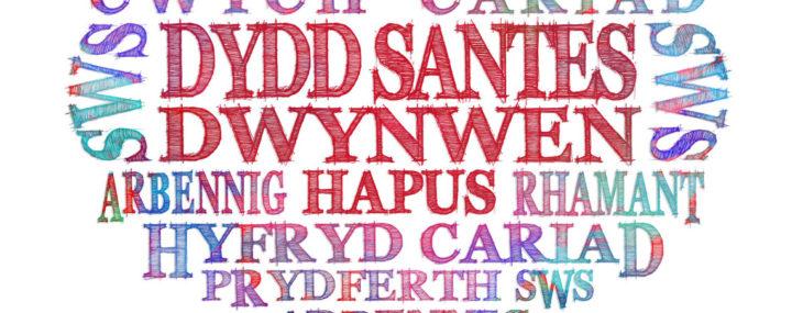 Dydd Santes Dwynwen hapus ~ Happy Saint Dwynwen's Day