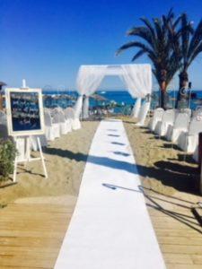 Strand Zeremonie - Marbella Wedding Angels