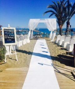 Strand Zeremonie – Marbella Wedding Angels