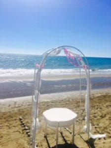 Zeremonie am Strand - Marbella Wedding Angels