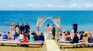Strandhochzeit und Zeremonie in Marbella