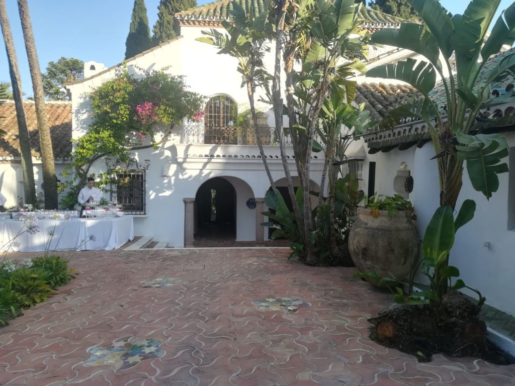 Exterior of Hacienda San Francisco