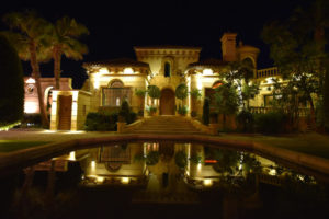 Villa 2 night time